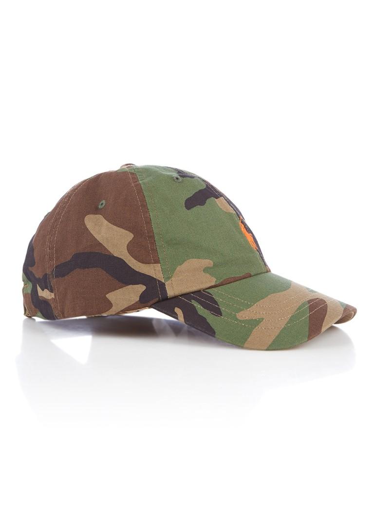 Ralph Lauren Pet met camouflagedessin