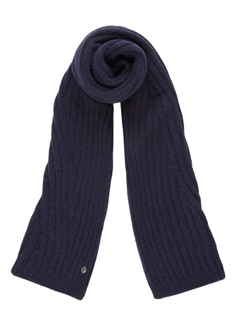 Barts Serenity sjaal in wolblend in uni 180 x 40 cm