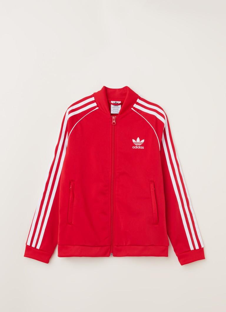 Adidas Originals Superstar Adicolor vest rood/wit online kopen