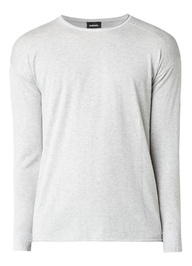 Diesel K-Cur pullover in katoenblend