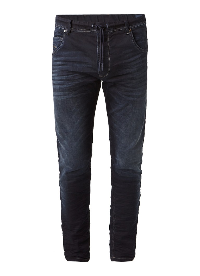 Diesel Krooley-NE Sweat jeans met tapered fit 0686F