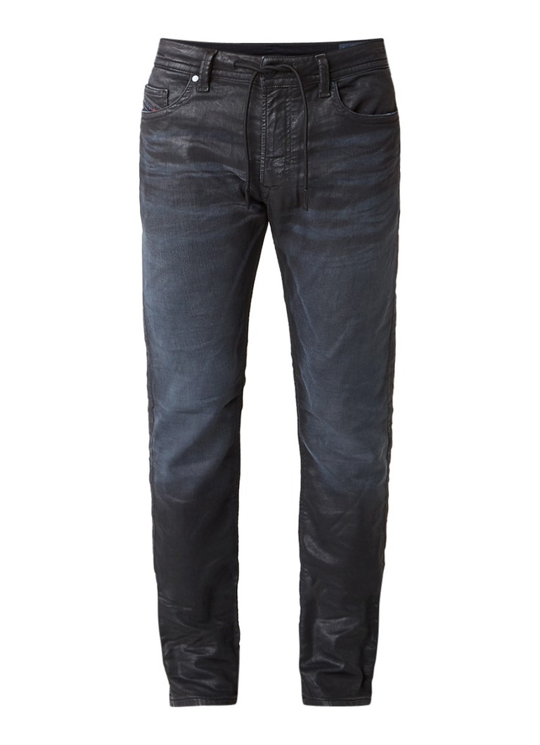 Diesel Thavar slim fit joggjeans met coating 0683I