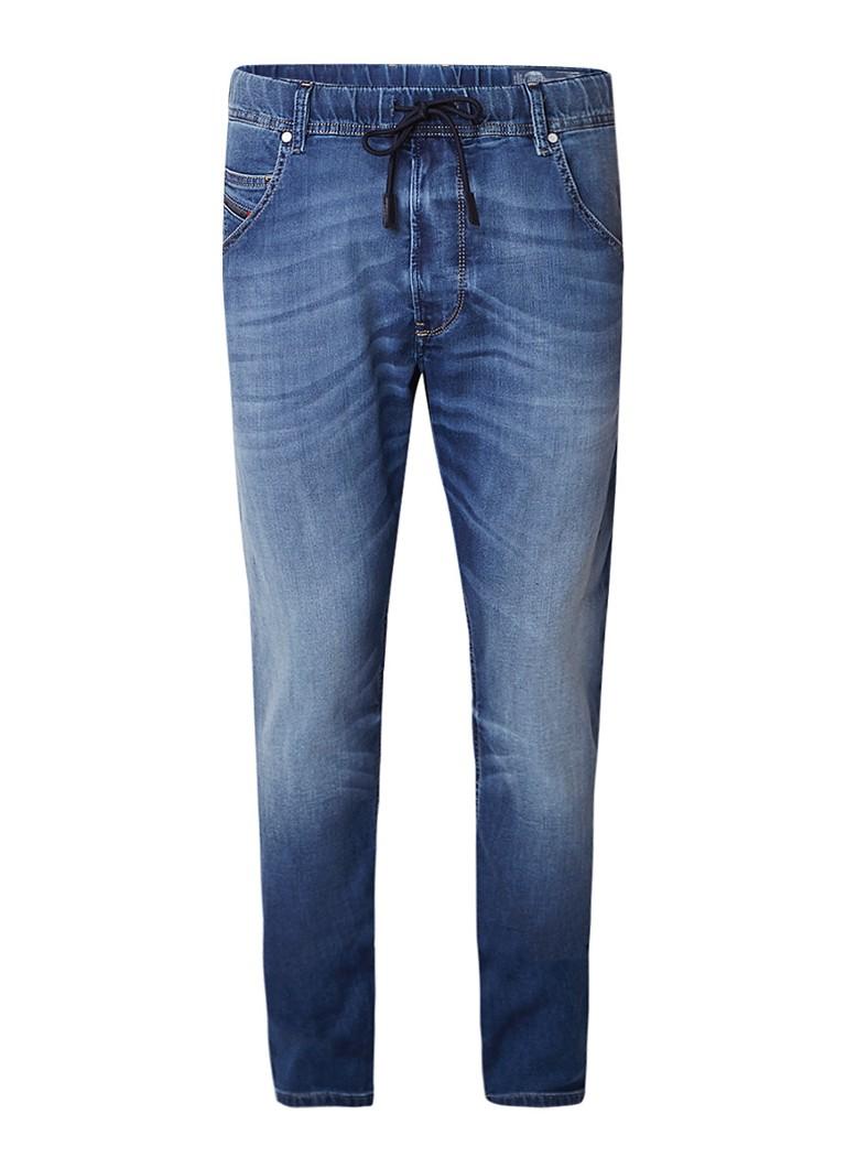 Diesel Krooley R-NE Sweat jeans met straight fit 0687C