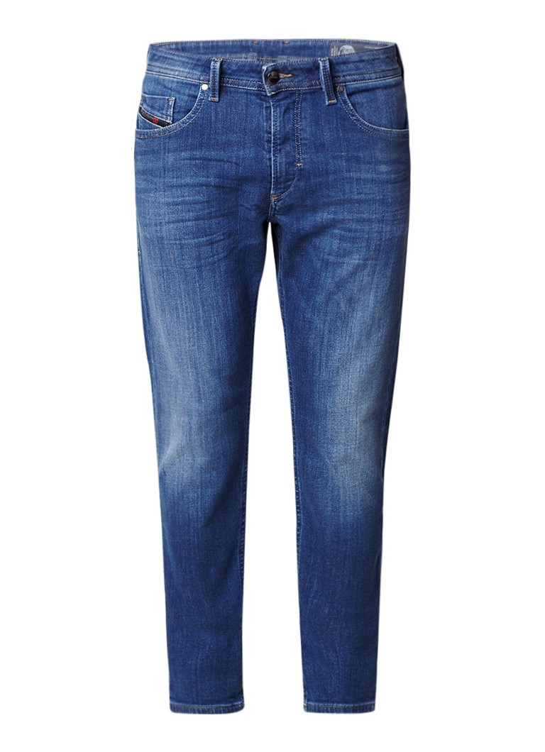 Diesel Thommer-T joggjeans met faded look 084RK