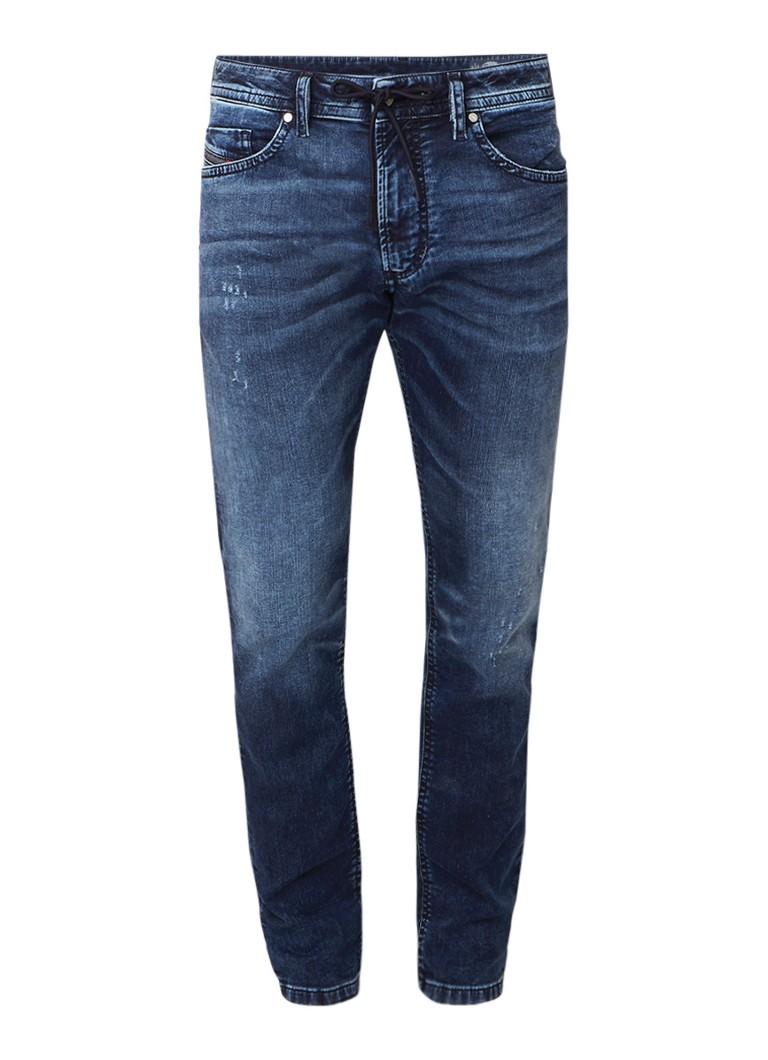 Diesel Thommer slim-skinny jeans met donkere wassing 0699Z