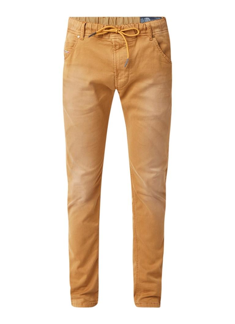 Diesel Krooley jogg jeans met gekleurde wassing 0670M