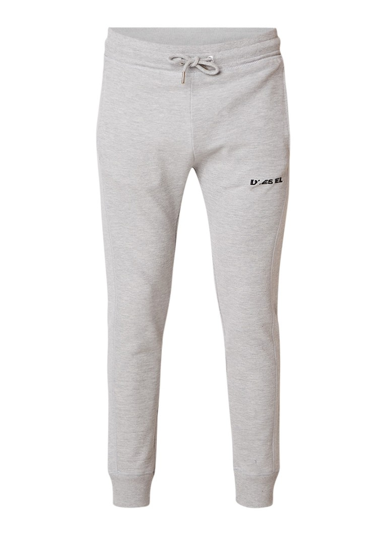 Diesel P-Tajo tapered fit joggingbroek met structuur