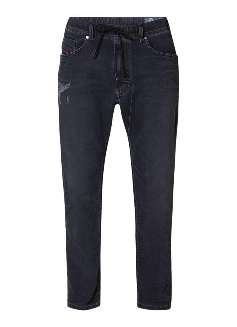 Diesel Narrot sweat jeans met elastische band en koord