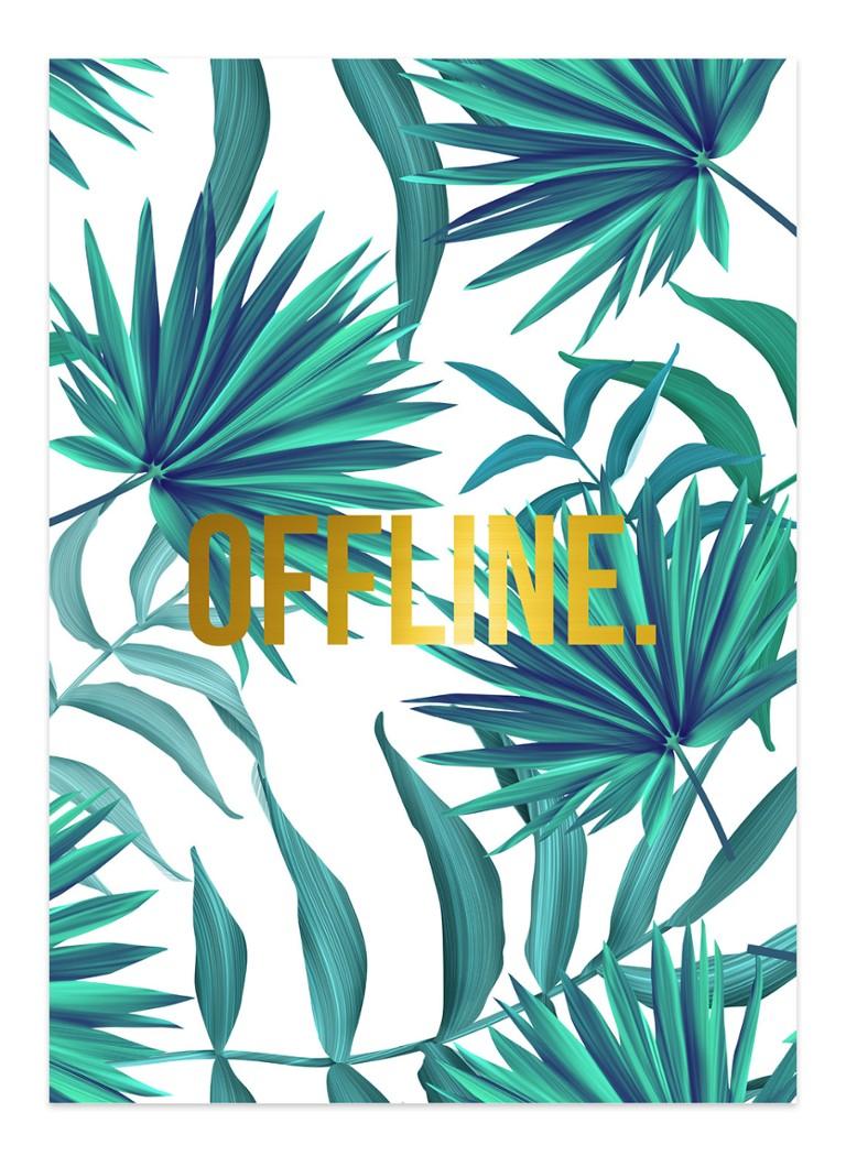 Studio Stationery Jungle Offline poster 50 x 70 cm