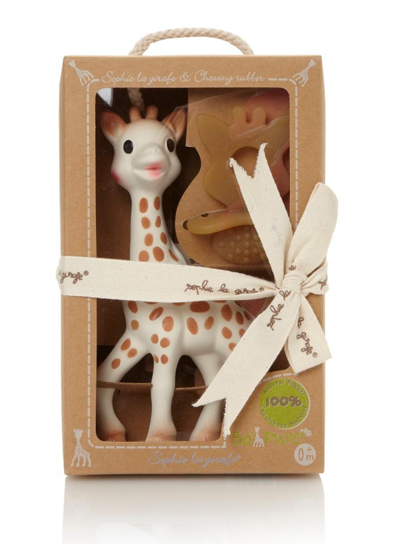 Sophie de Giraf Rubber bijtring en speelgoedgiraffe