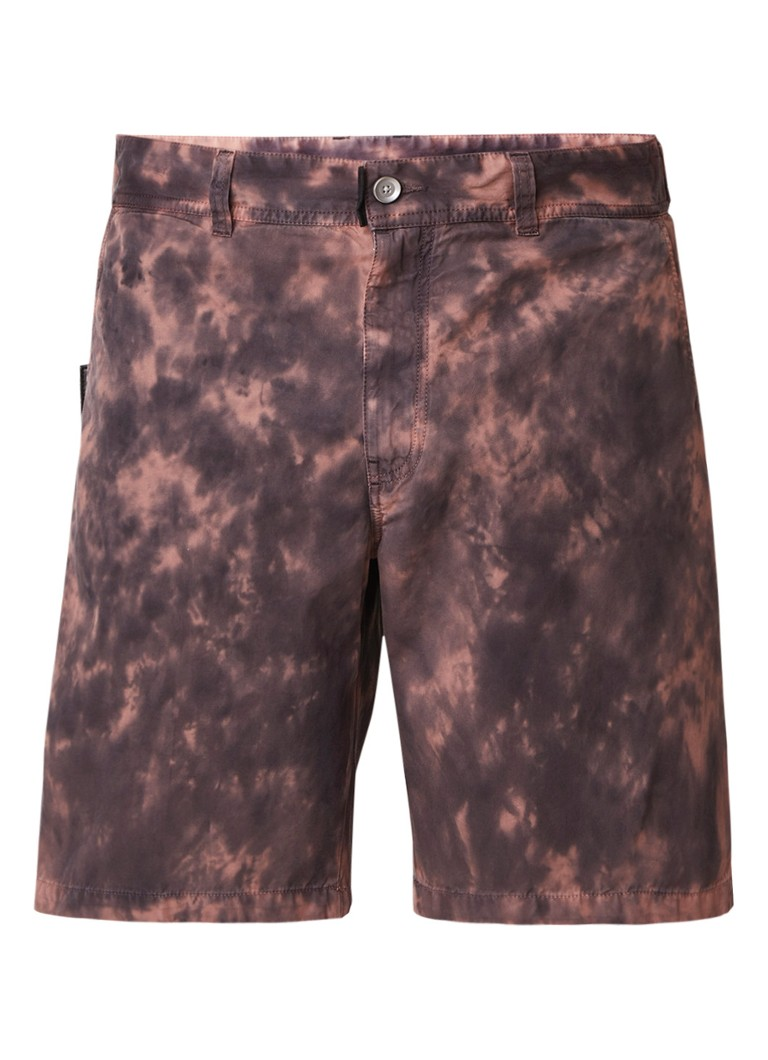 Diesel P-Zone regular fit shorts met verwassen look