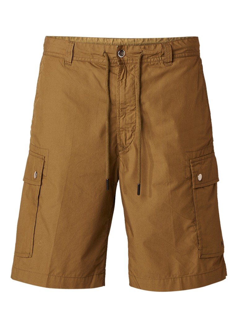 Diesel P-Cliver cargo shorts met klepzak