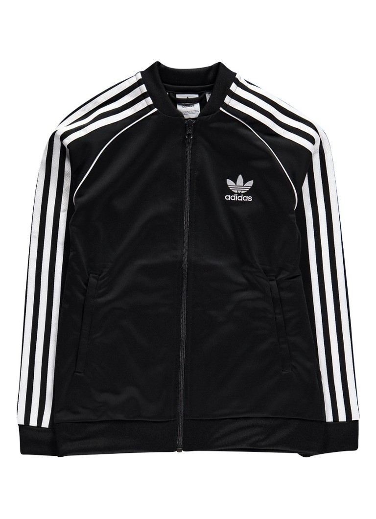 adidas Superstar trainingsjack met logobies