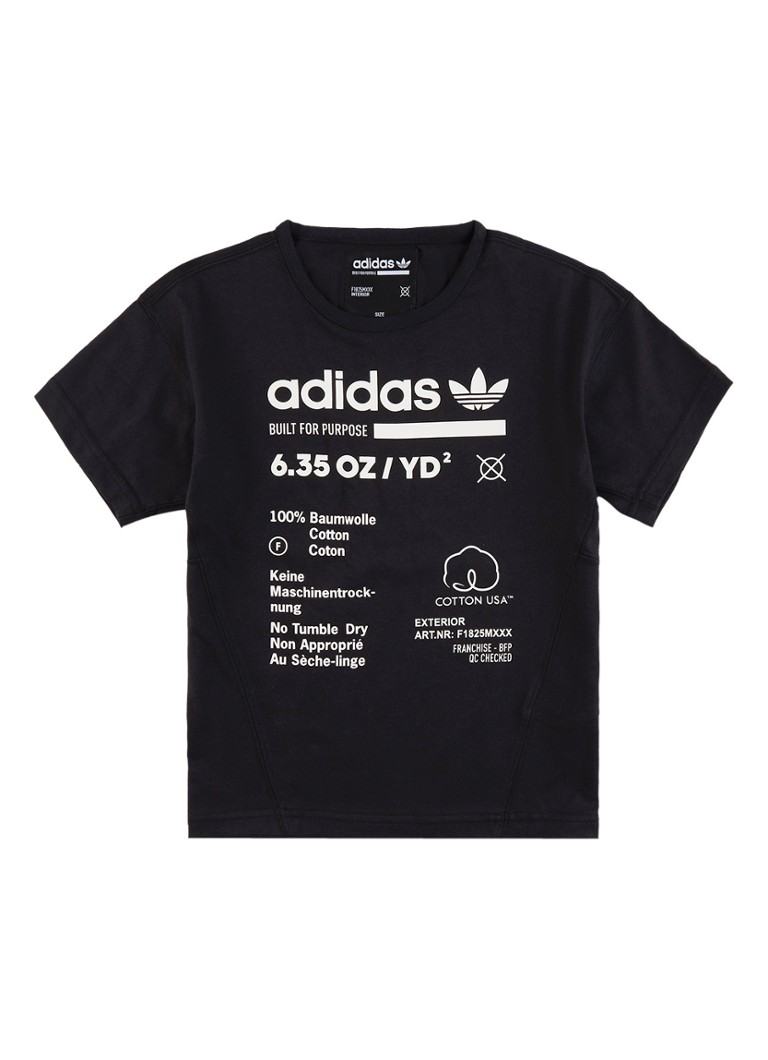 adidas T-shirt met logoprint