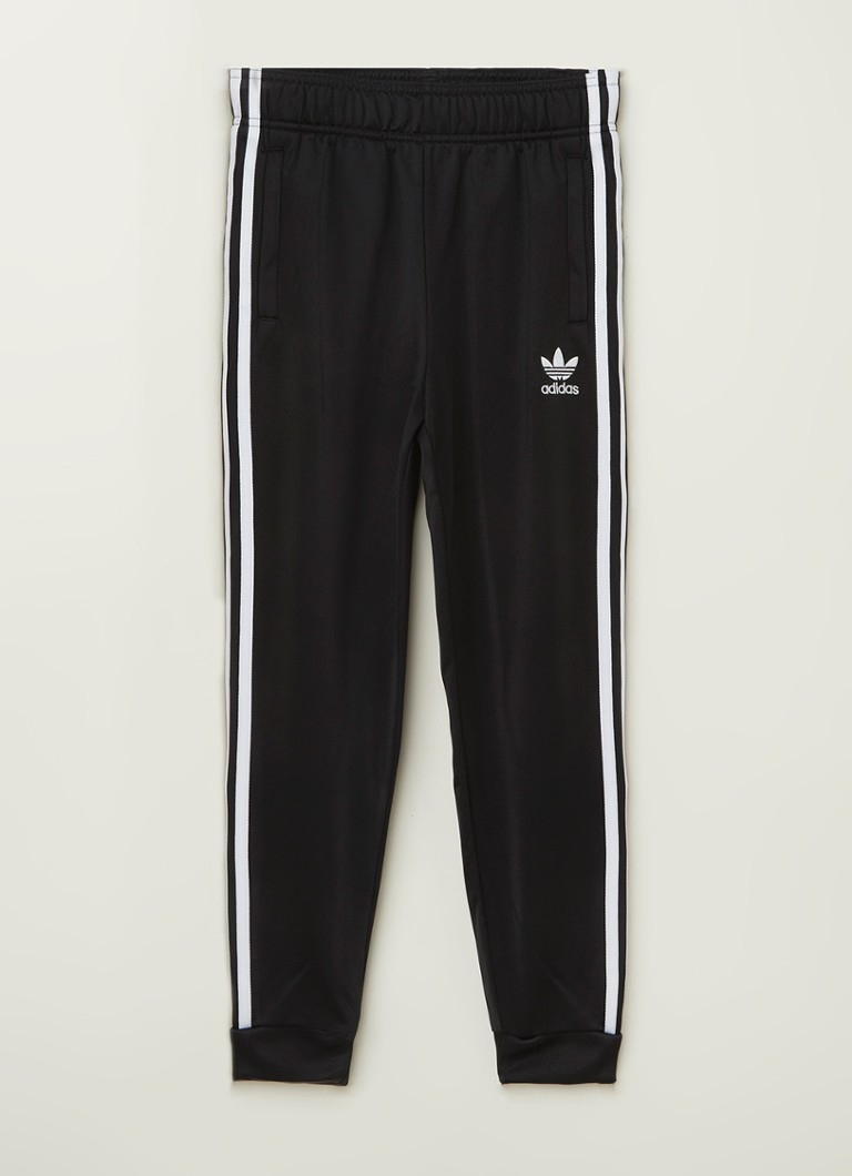 adidas Superstar tapered fit track pants met logo