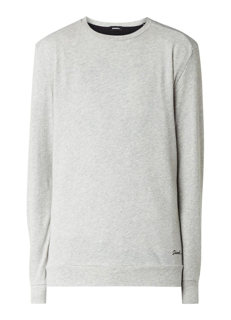 Diesel S-Compton sweater van dun sweatkatoen