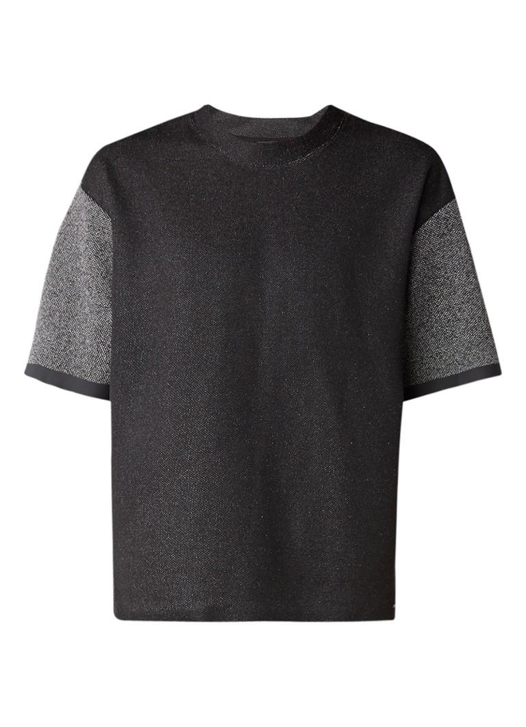 Diesel T-Cherubos gemêleerd T-shirt van sweatstof