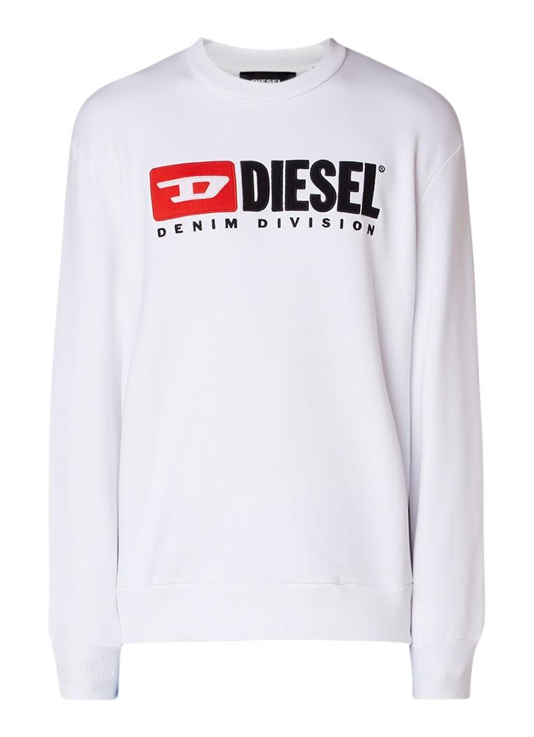 Diesel S-Crew Division sweater met merkapplicatie