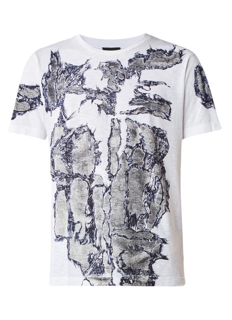 Diesel T-Joe-ND T-shirt met abstracte print