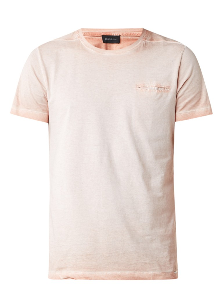 Diesel T-Diego Jamy T-shirt met garment dye