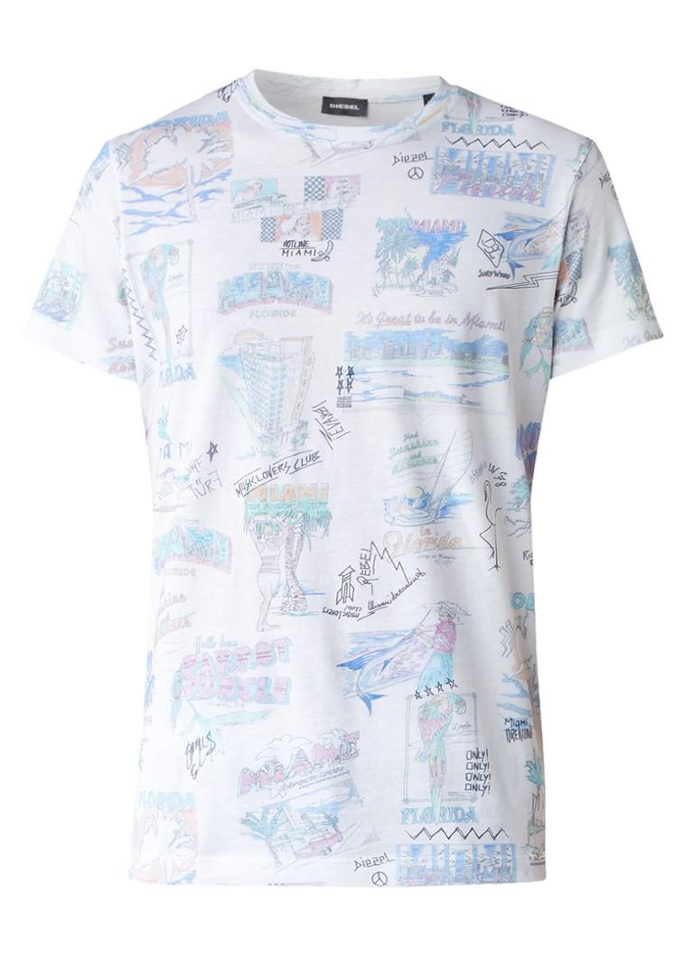 Diesel T-Diego T-shirt met print