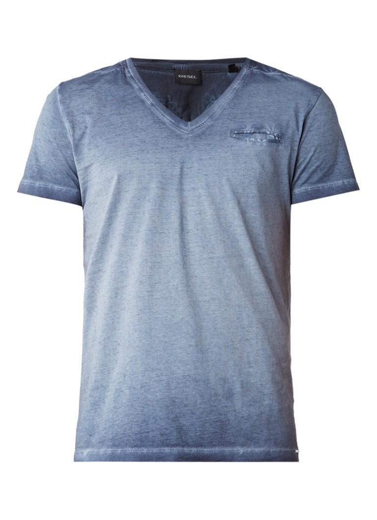 Diesel T-Diego T-shirt met garment dye