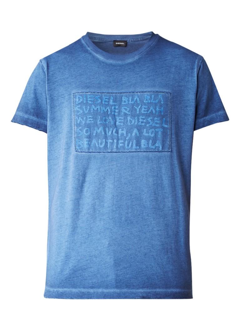 Diesel T-Diego T-shirt met tekstprint
