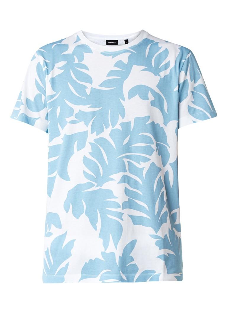 Diesel T-Diego T-shirt met geperforeerde achterzijde