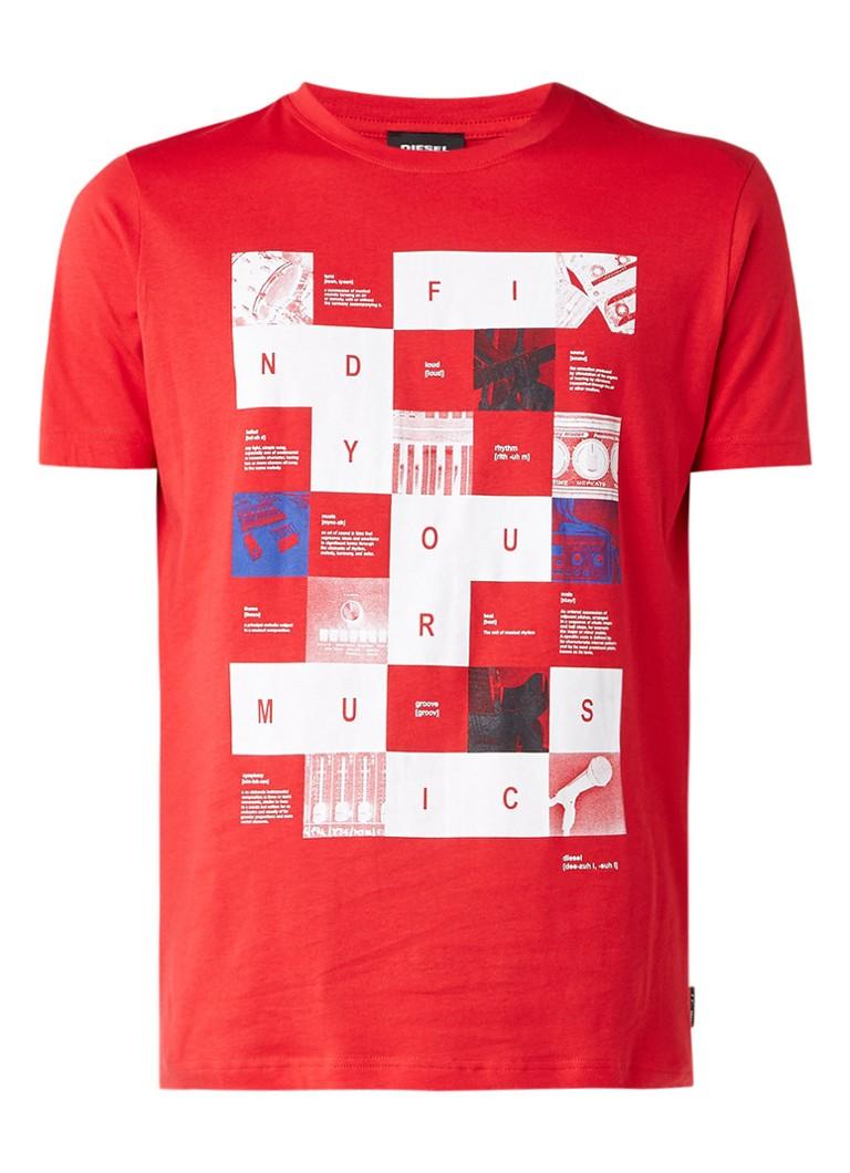 Diesel T-JOE-RX T-shirt met print