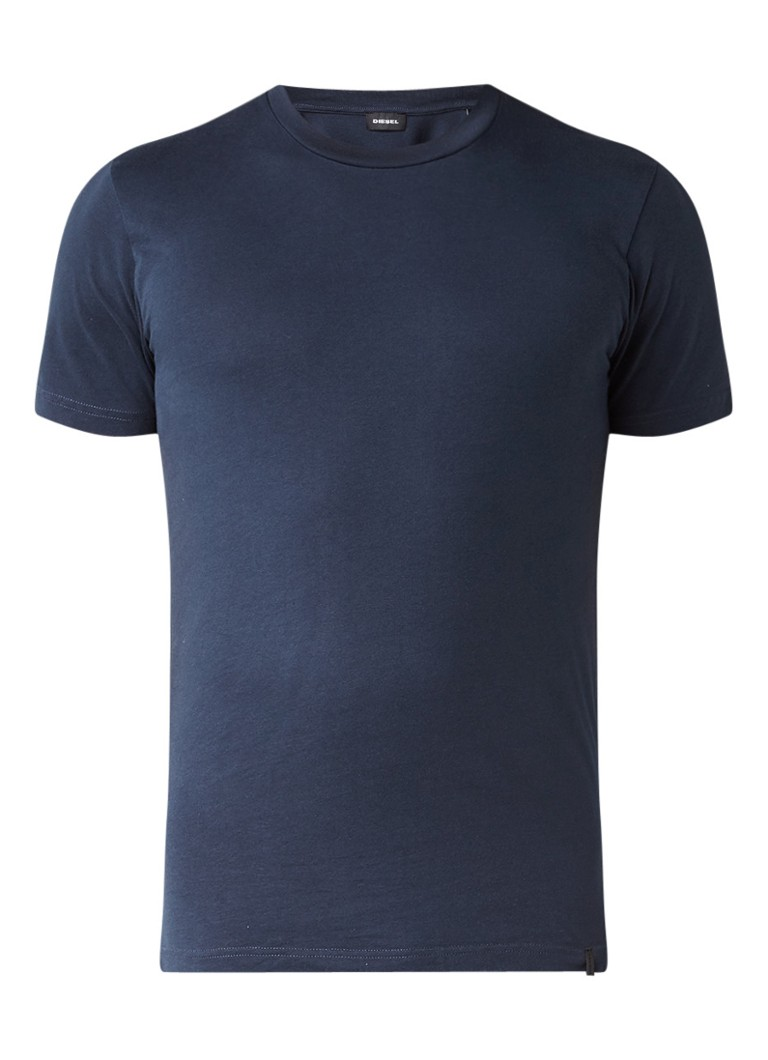 Diesel T-DANIEL T-shirt met subtiele splits