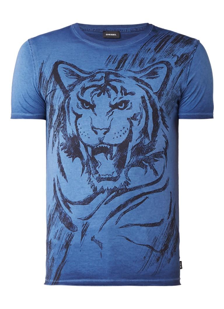 Diesel T-Diego-Gn T-shirt met print
