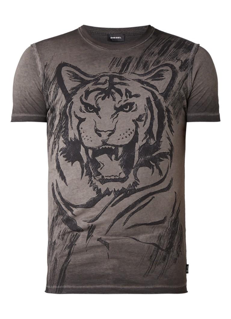 Diesel T-Diego-Qn T-shirt met print