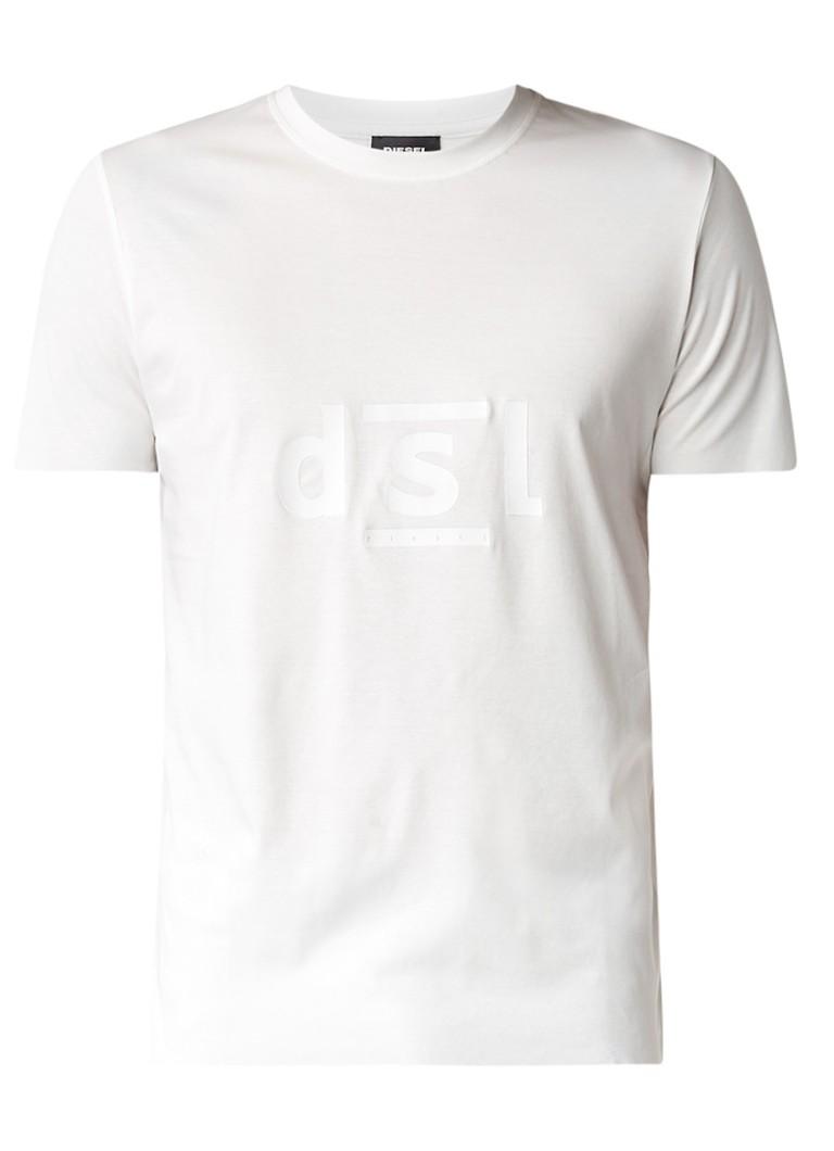 Diesel T-Diego T-shirt met tekstopdruk