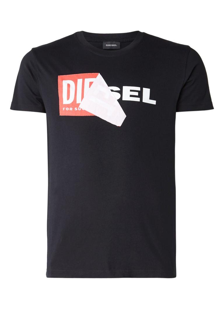 Diesel T-DIEGO T-shirt met logo