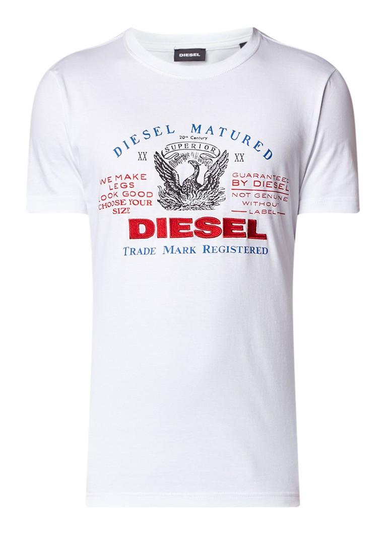 Diesel T-Logys T-shirt met logoprint