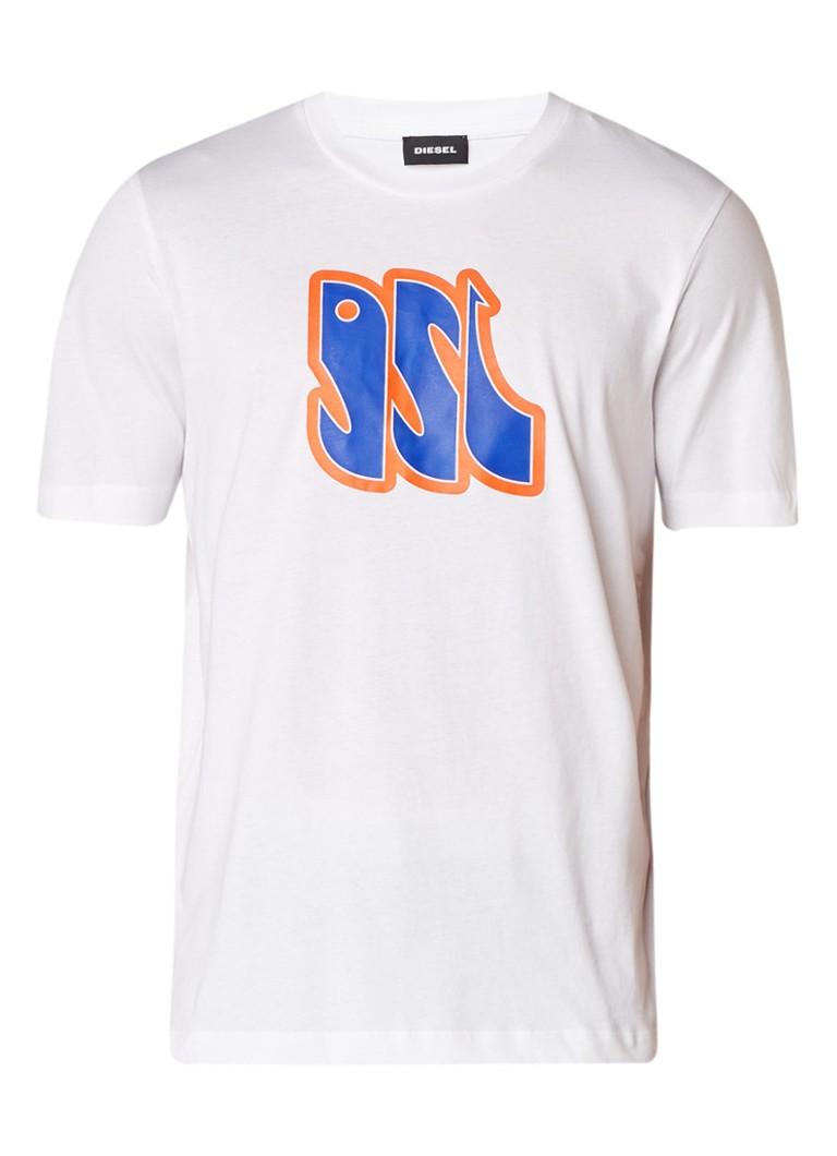 Diesel T-Just-Za T-shirt met print
