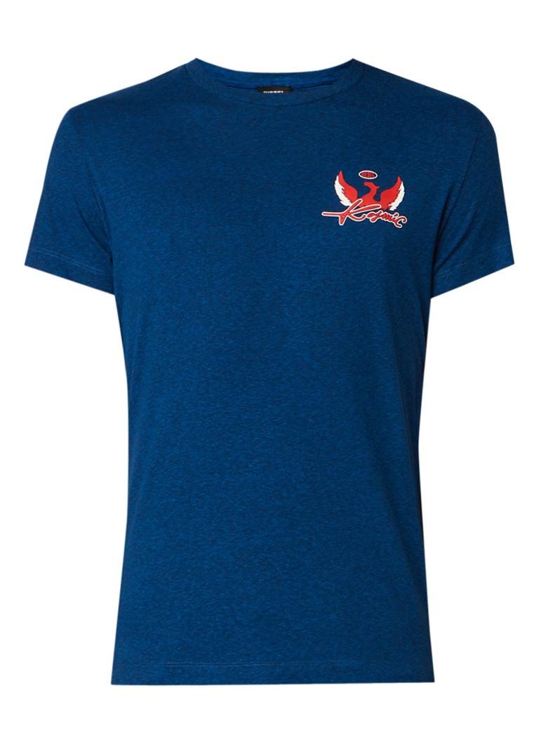 Diesel T-Diego-SP T-shirt in katoenblend met opdruk