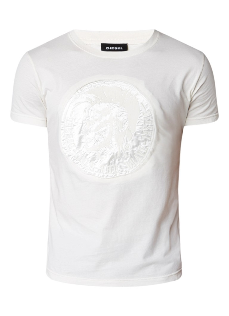 Diesel T-Diego T-shirt met applicatie