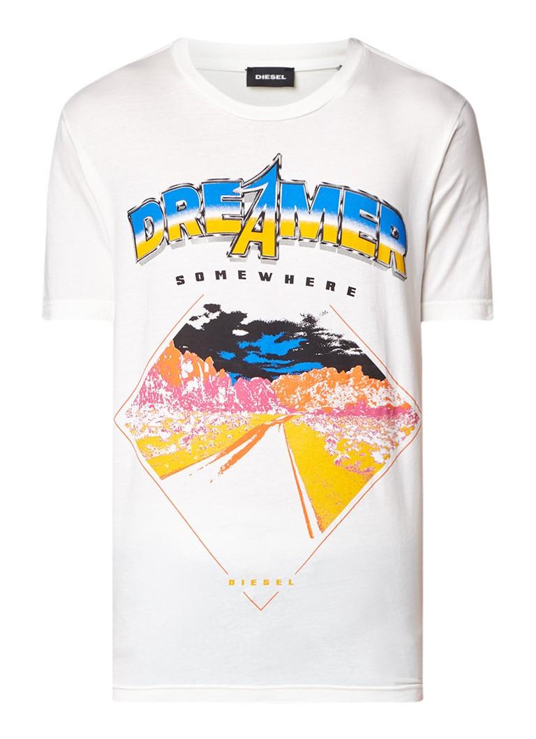 Diesel T-Just T-shirt met print