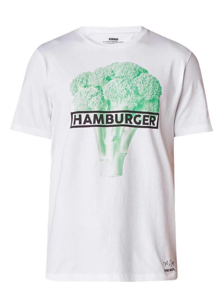 Diesel T-Just-So T-shirt met print