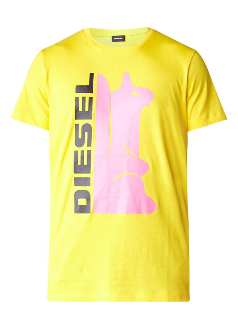 Diesel Diego T-shirt met frontprint