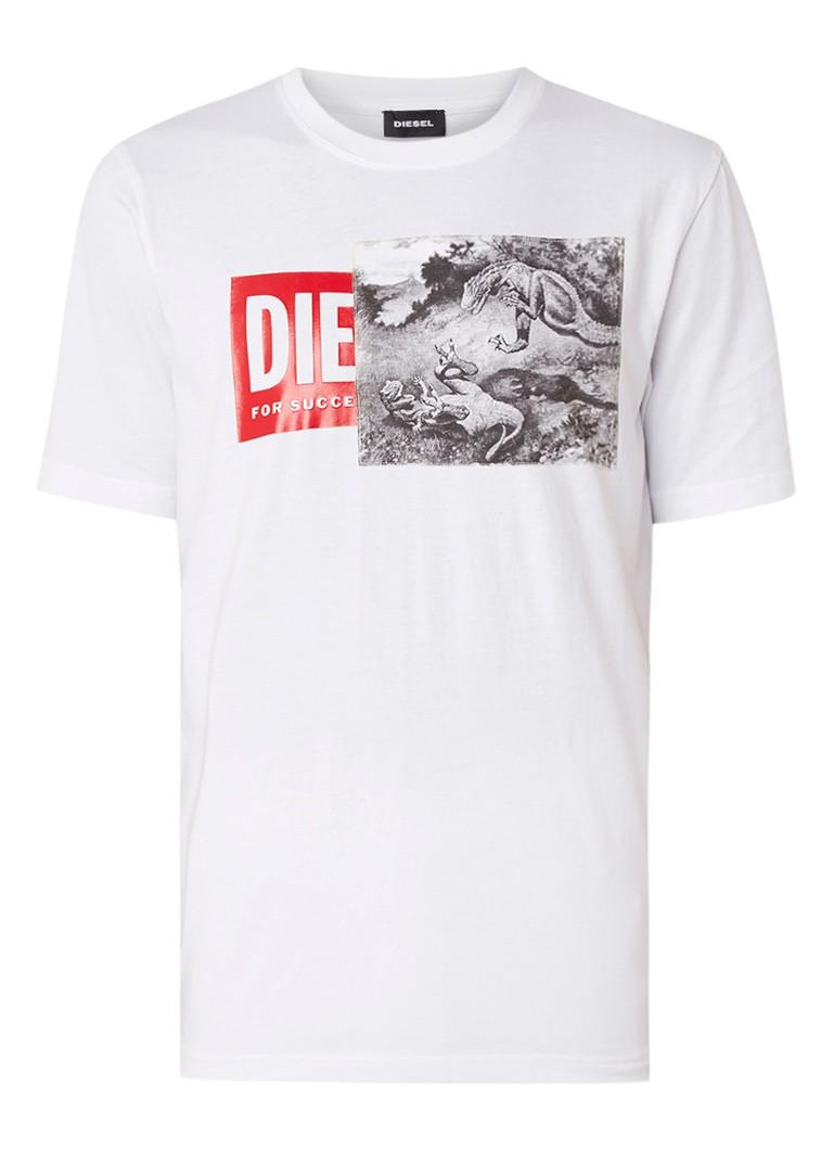 T-shirt Korte Mouw Diesel  T-JUST XH MAGLIETTA