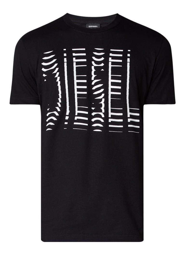 Diesel T-Diego T-shirt met logoprint