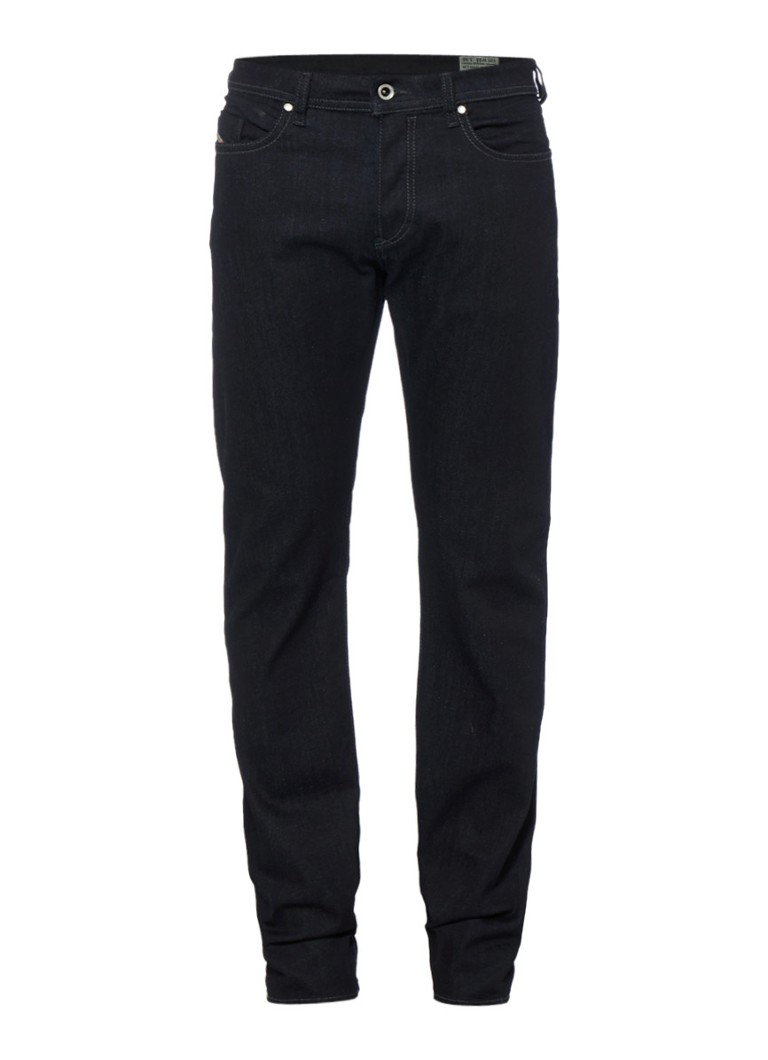 Diesel Buster regular slim-tapered jeans in donkerblauw 0607A