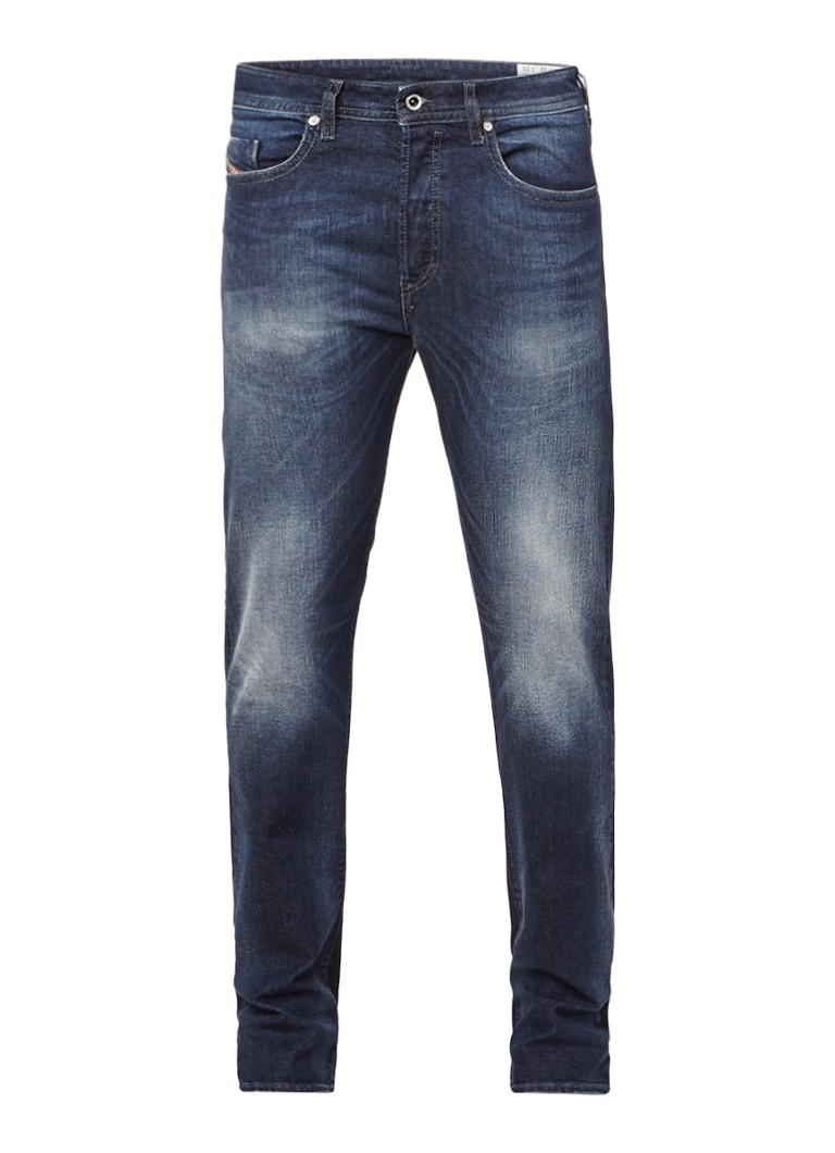 Diesel Buster regular slim-tapered fit jeans 0853R