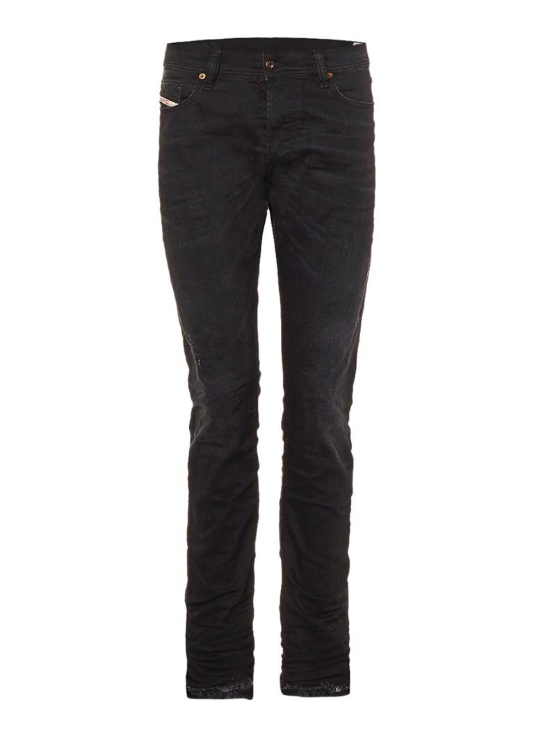 Diesel Tepphar high rise slim fit jeans in faded look 084GA