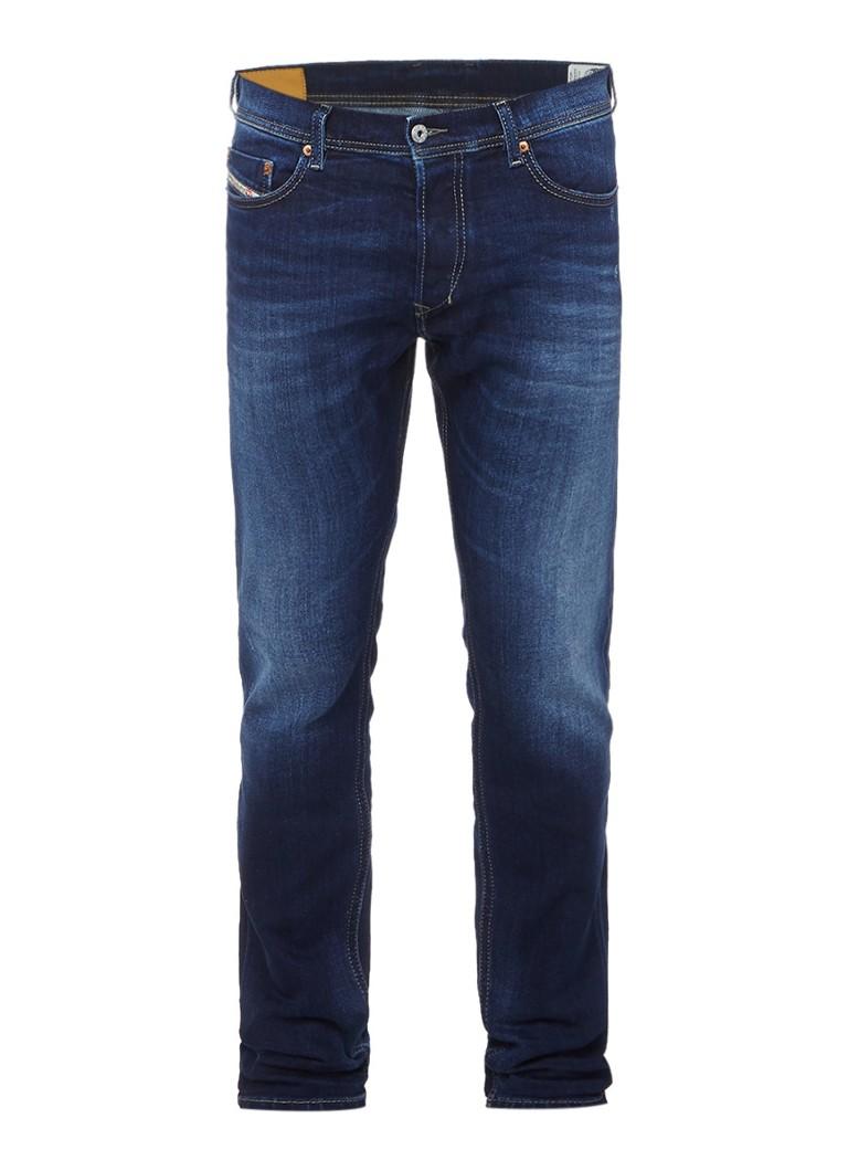 Diesel Tepphar slim fit carrot jeans in faded look 0860L
