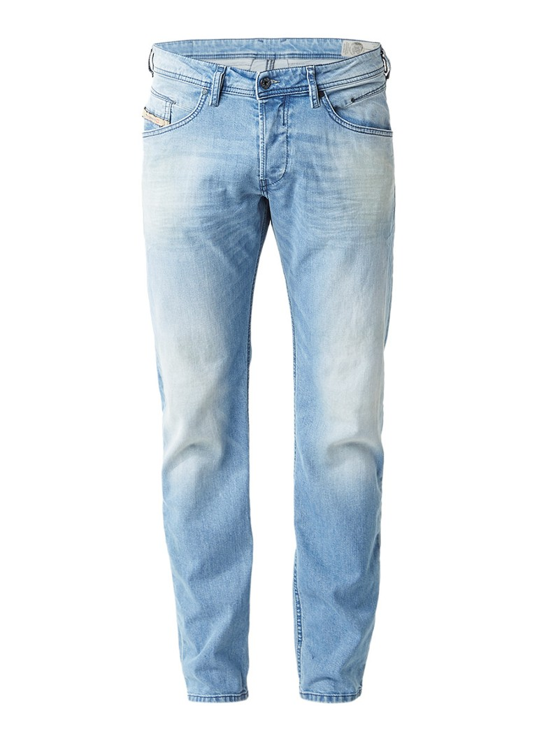 Diesel Belther regular slim-tapered jeans 084CU stretch