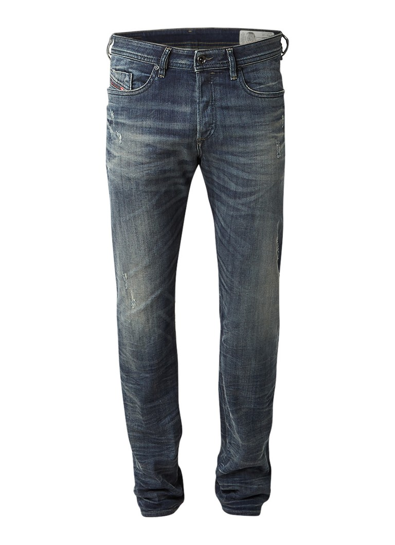 Diesel Buster 0854S regular slim-tapered fit jeans met stretch