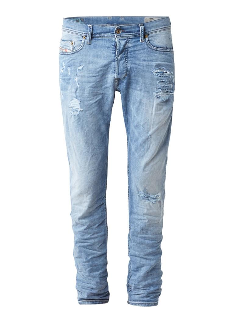 Diesel Tepphar slim-carrot jeans met stretch 086701
